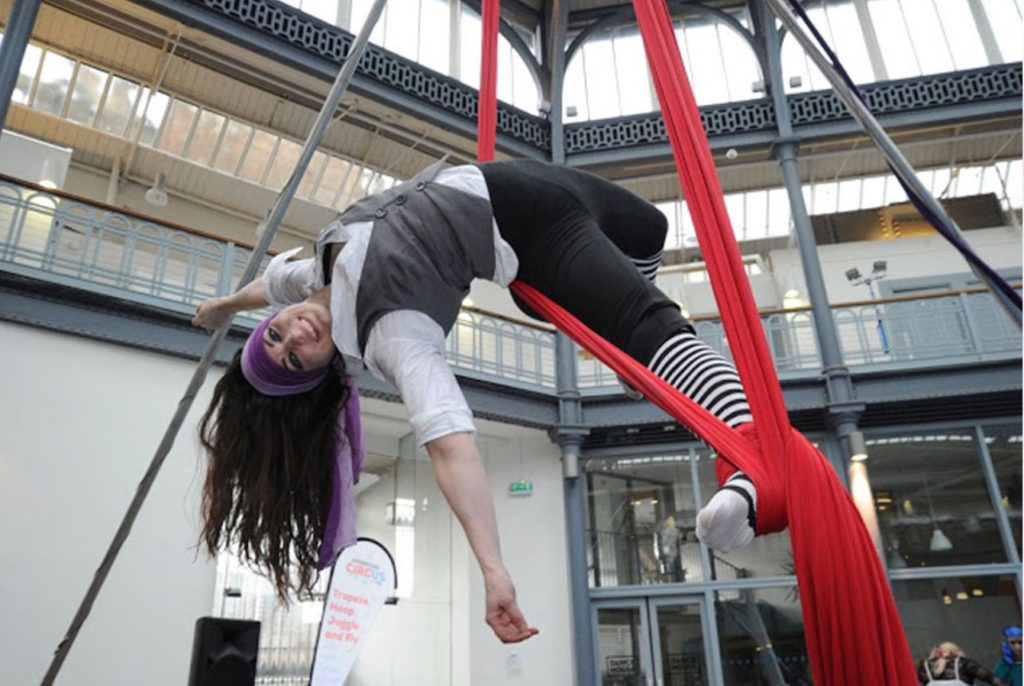 Aerial Acrobatics with 'Adventure Circus'